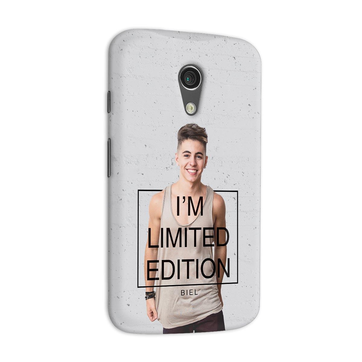 Capa para Motorola Moto G 2 Biel I´m Limited Edition