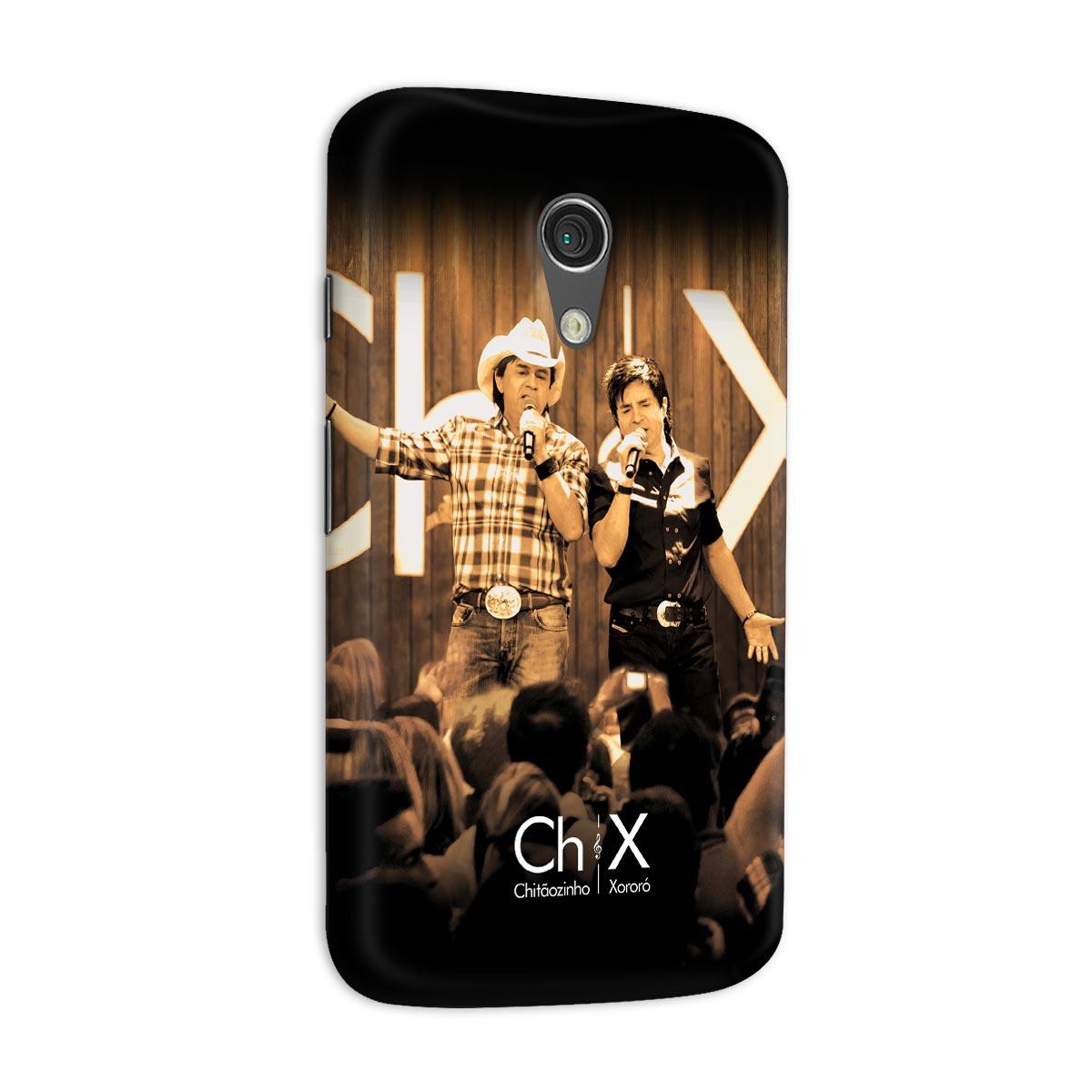 Capa para Motorola Moto G 2 Chitãozinho & Xororó Show