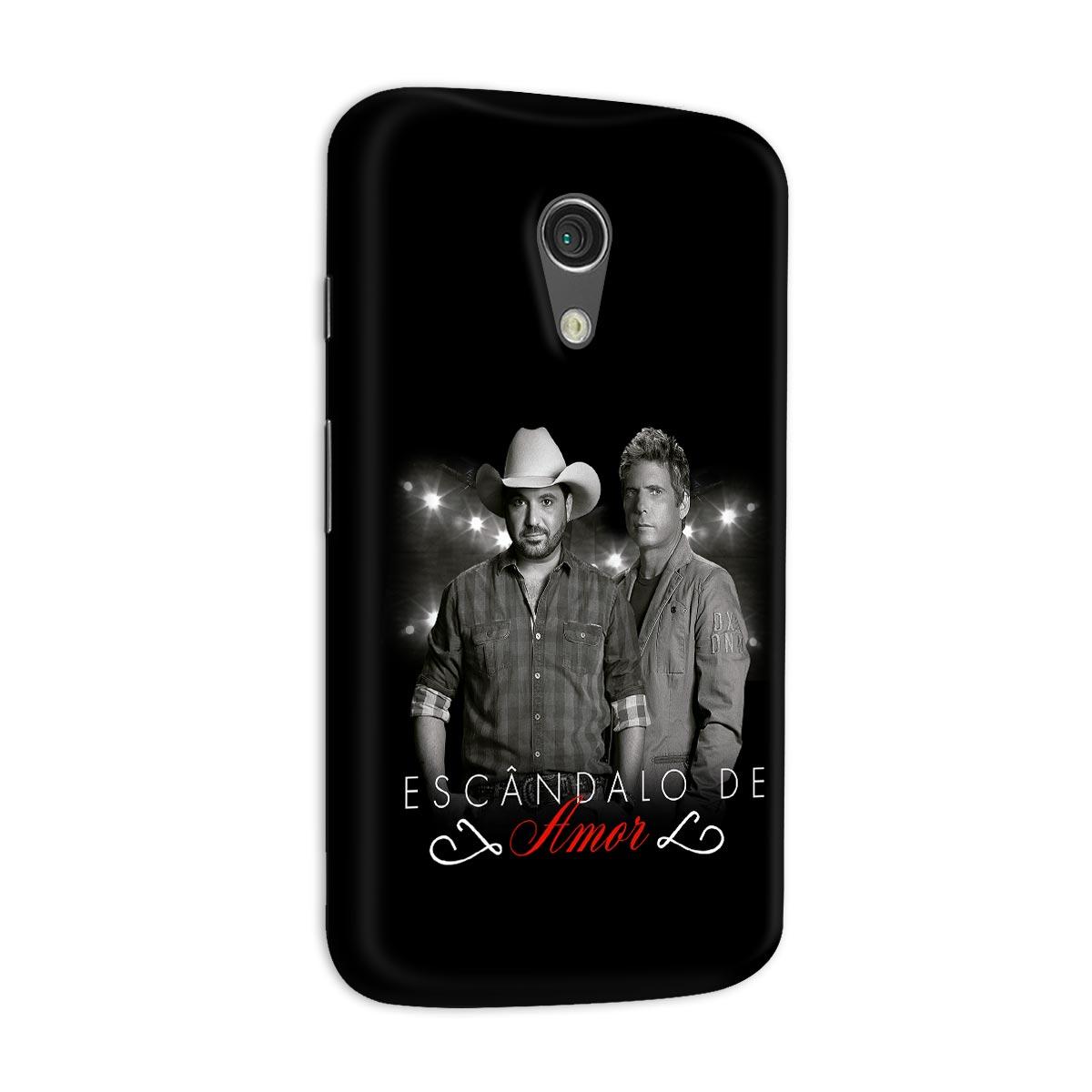 Capa para Motorola Moto G 2 Edson & Hudson Esc�ndalo de Amor Foto