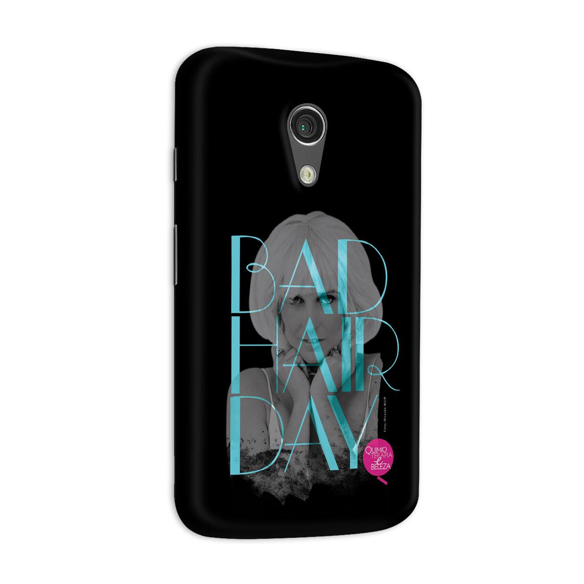 Capa para Motorola Moto G 2 QeB Bad Hair Day
