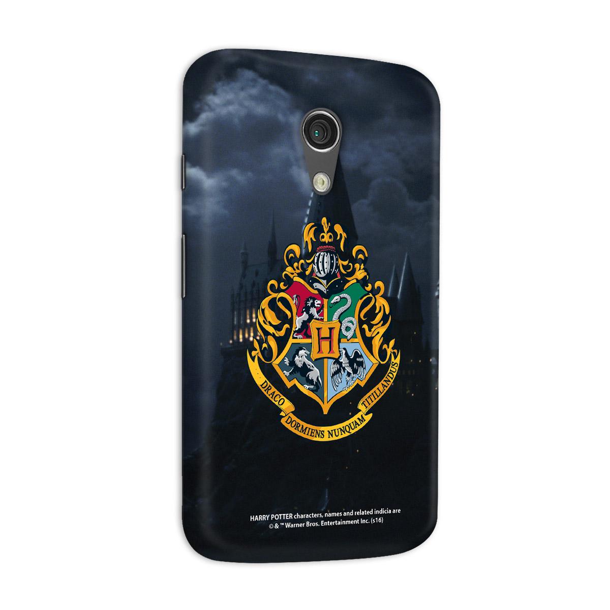 Capa para Motorola Moto G 2 Harry Potter Hogwarts