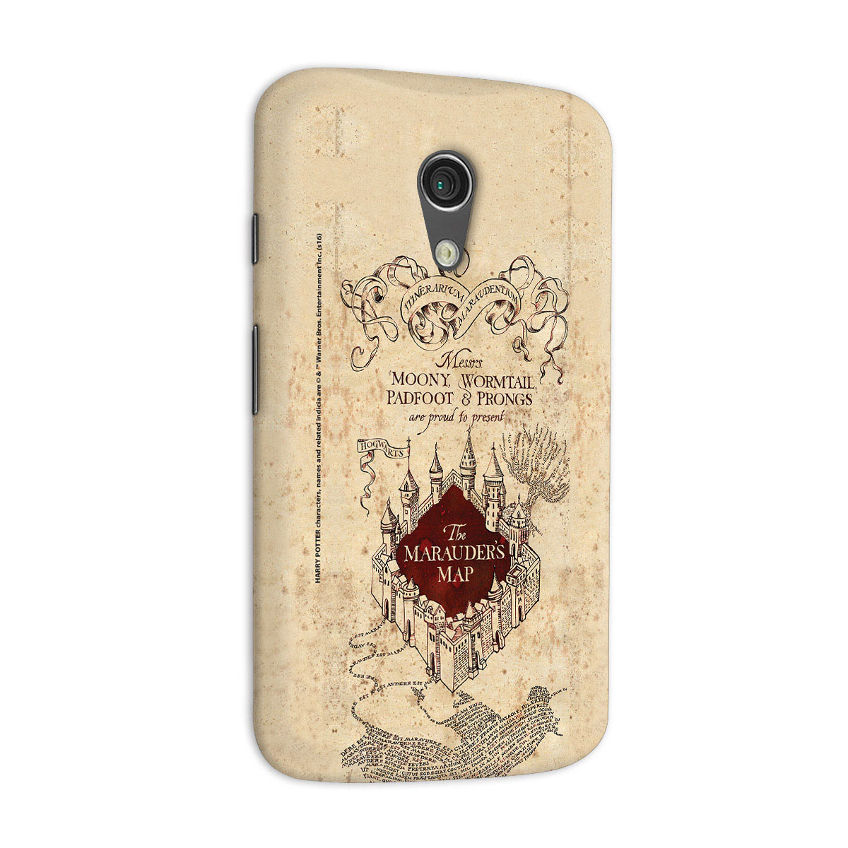 Capa para Motorola Moto G 2 Harry Potter The Marauder´s Map