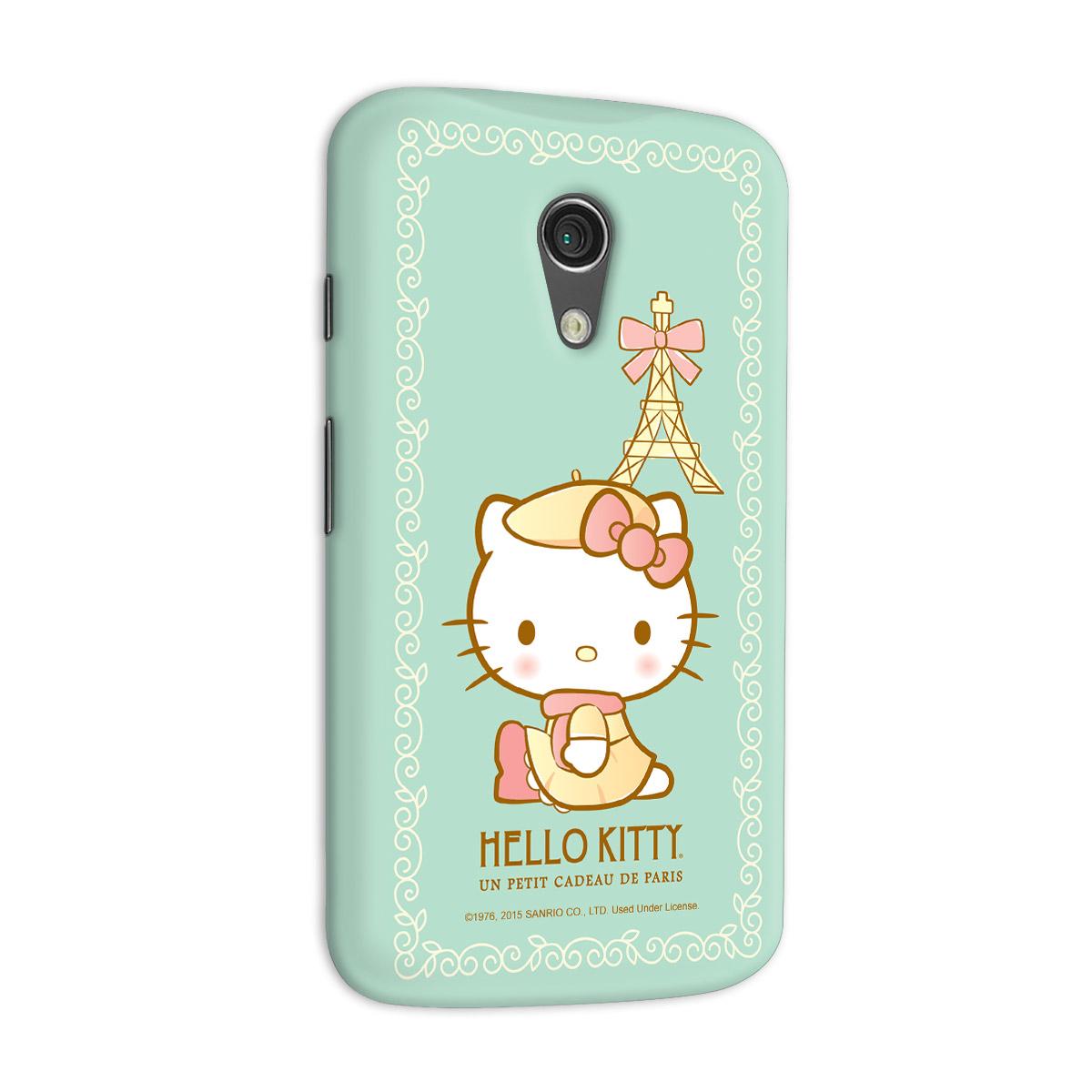 Capa para Motorola Moto G 2 Hello Kitty Un Petit Cadeau