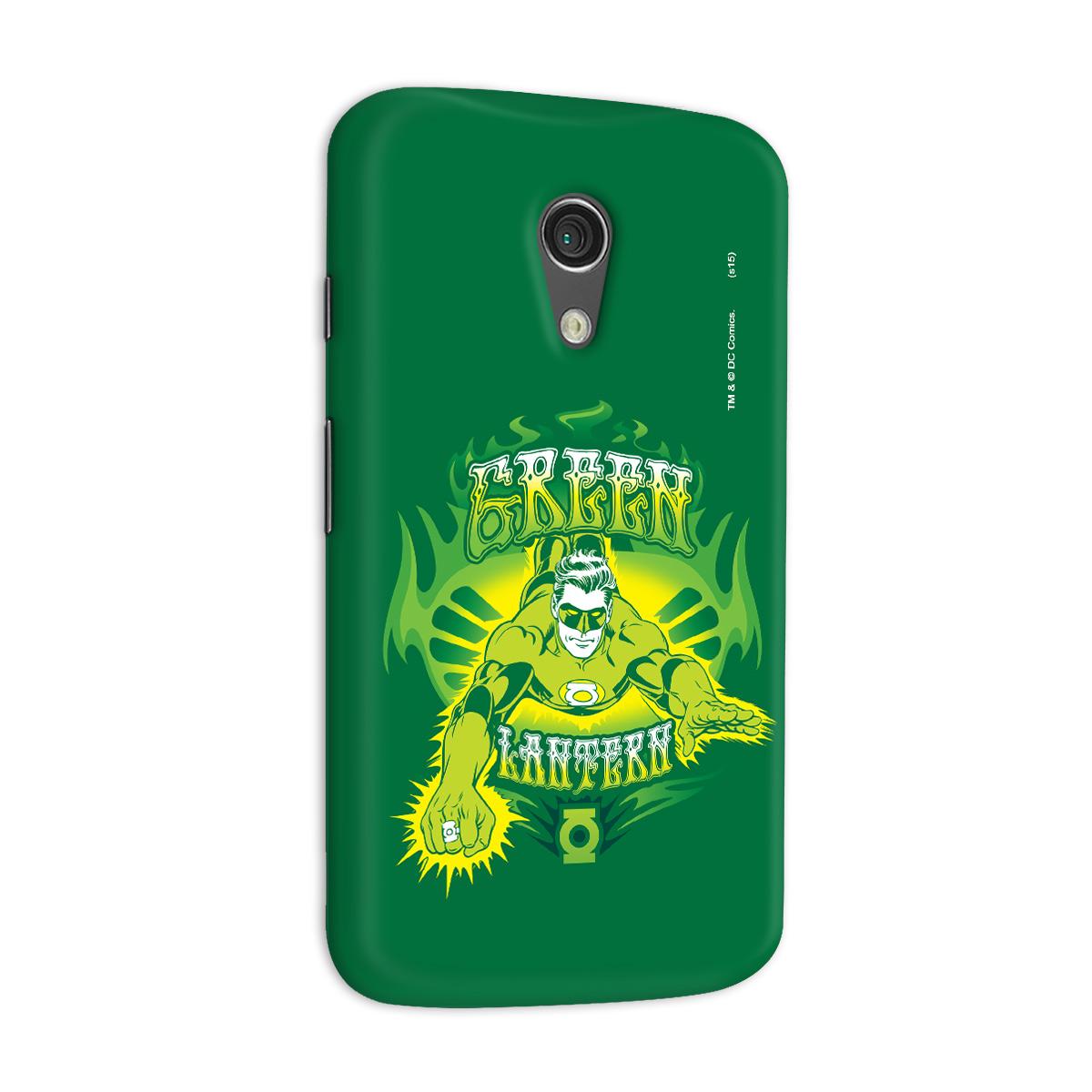 Capa para Motorola Moto G 2 Lanterna Verde Em Ação