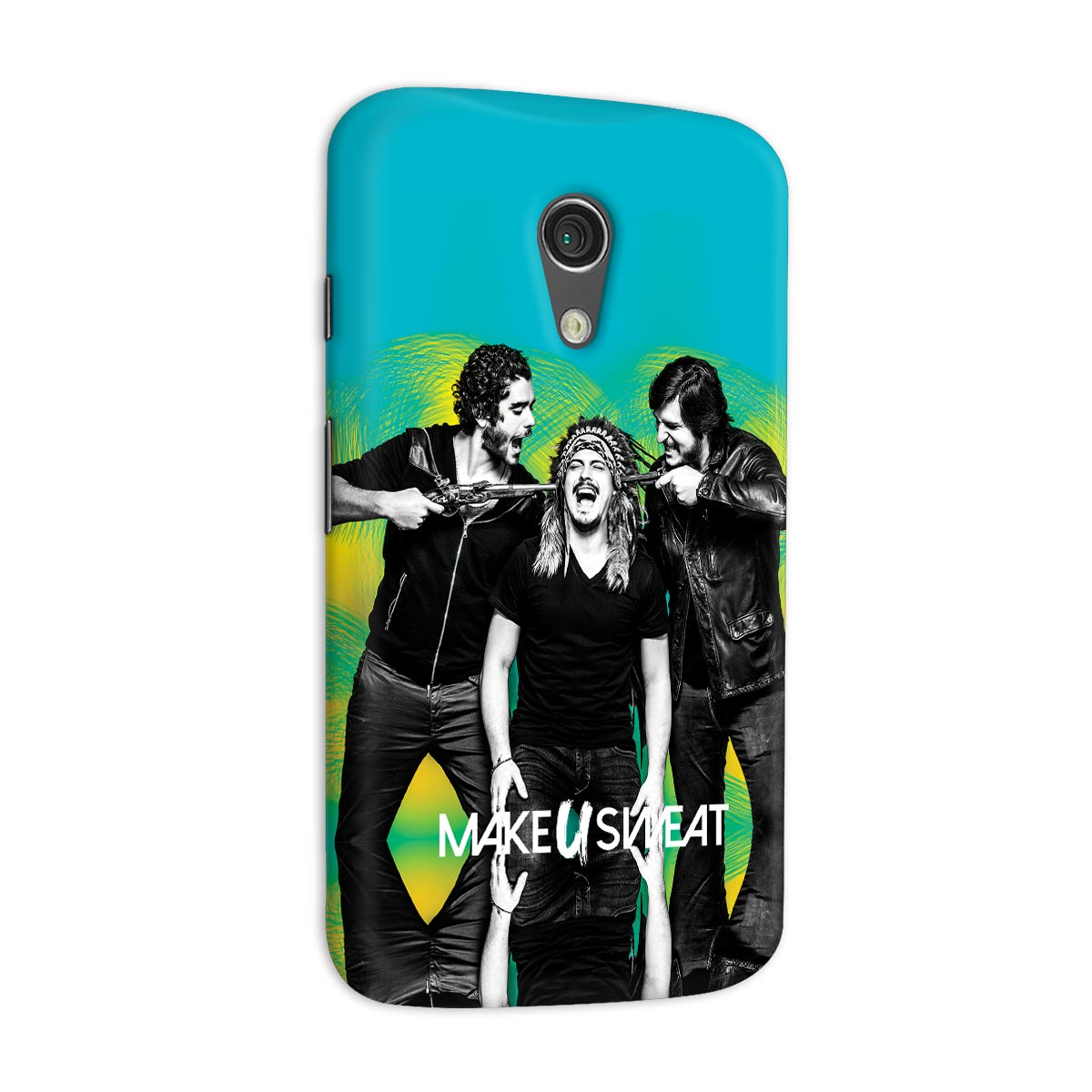 Capa para Motorola Moto G 2 Make U Sweat Foto