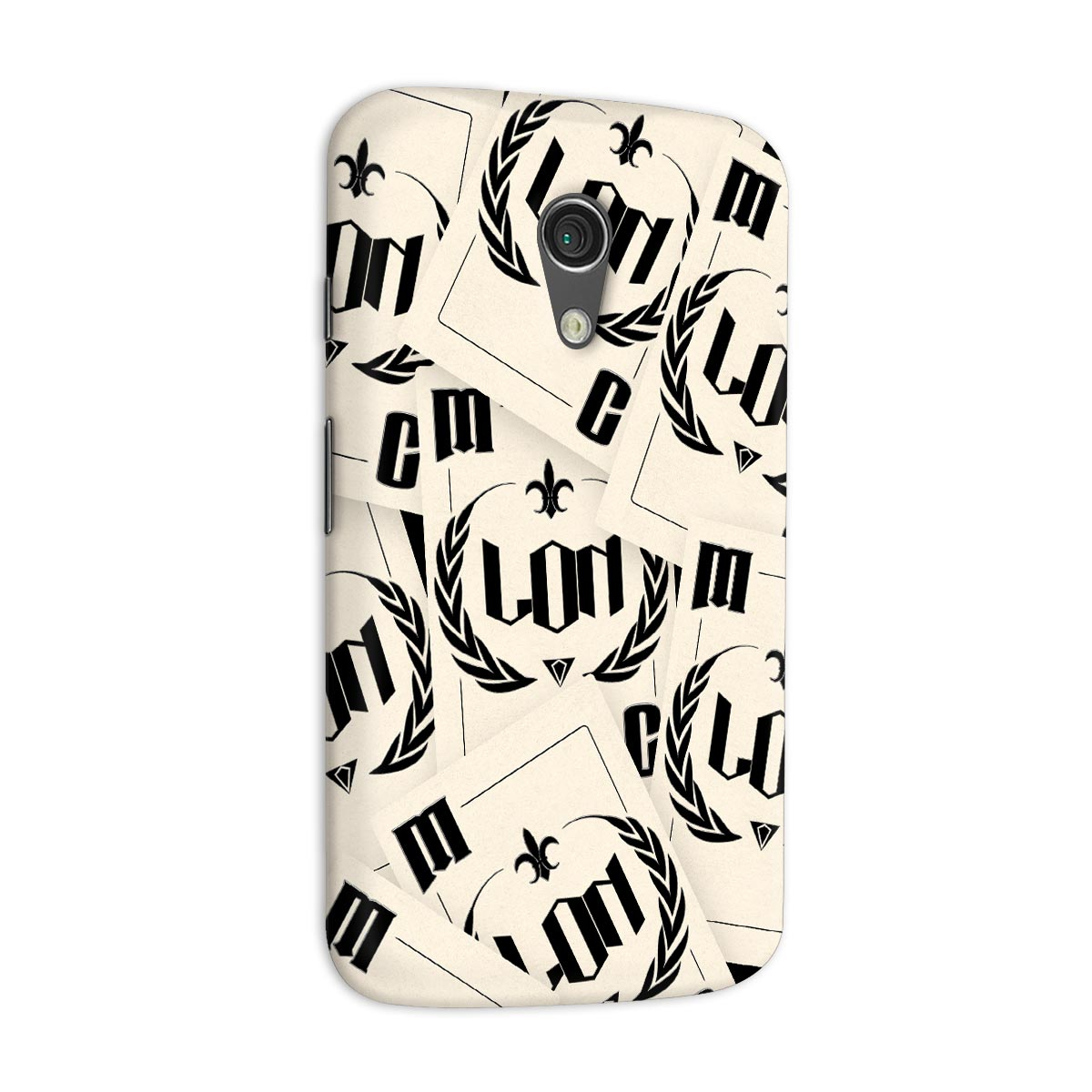 Capa para Motorola Moto G 2 MC Lon Playing Cards