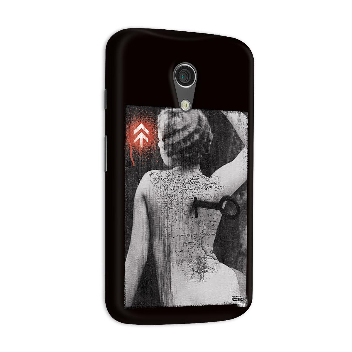 Capa para Motorola Moto G 2 NXZero Personal Prive