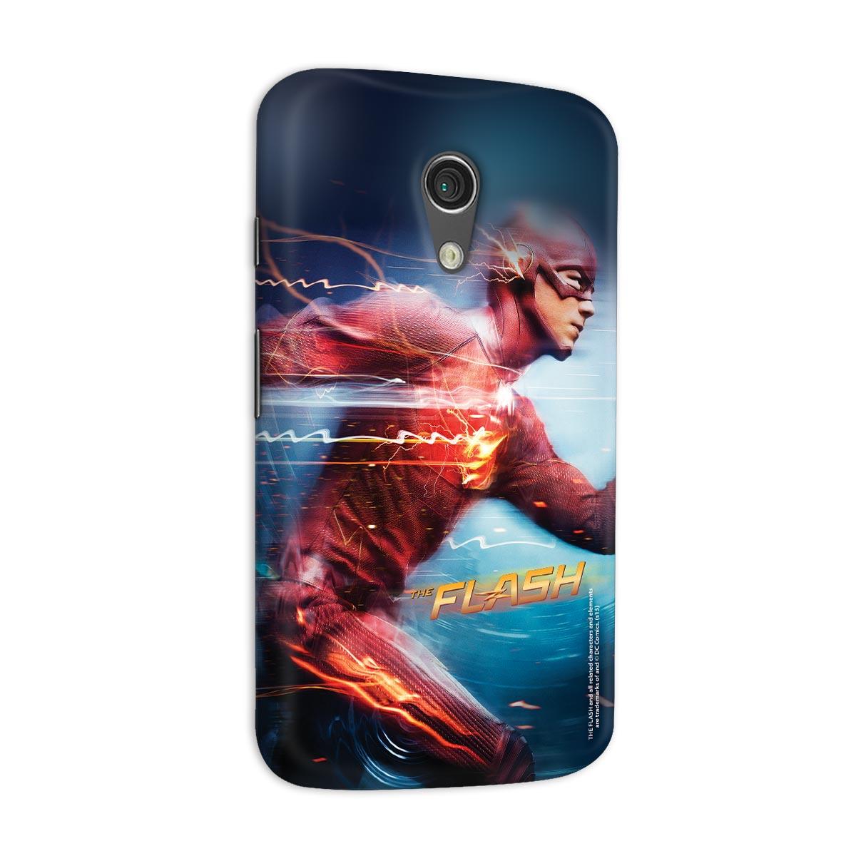Capa para Motorola Moto G 2 The Flash Serie Running