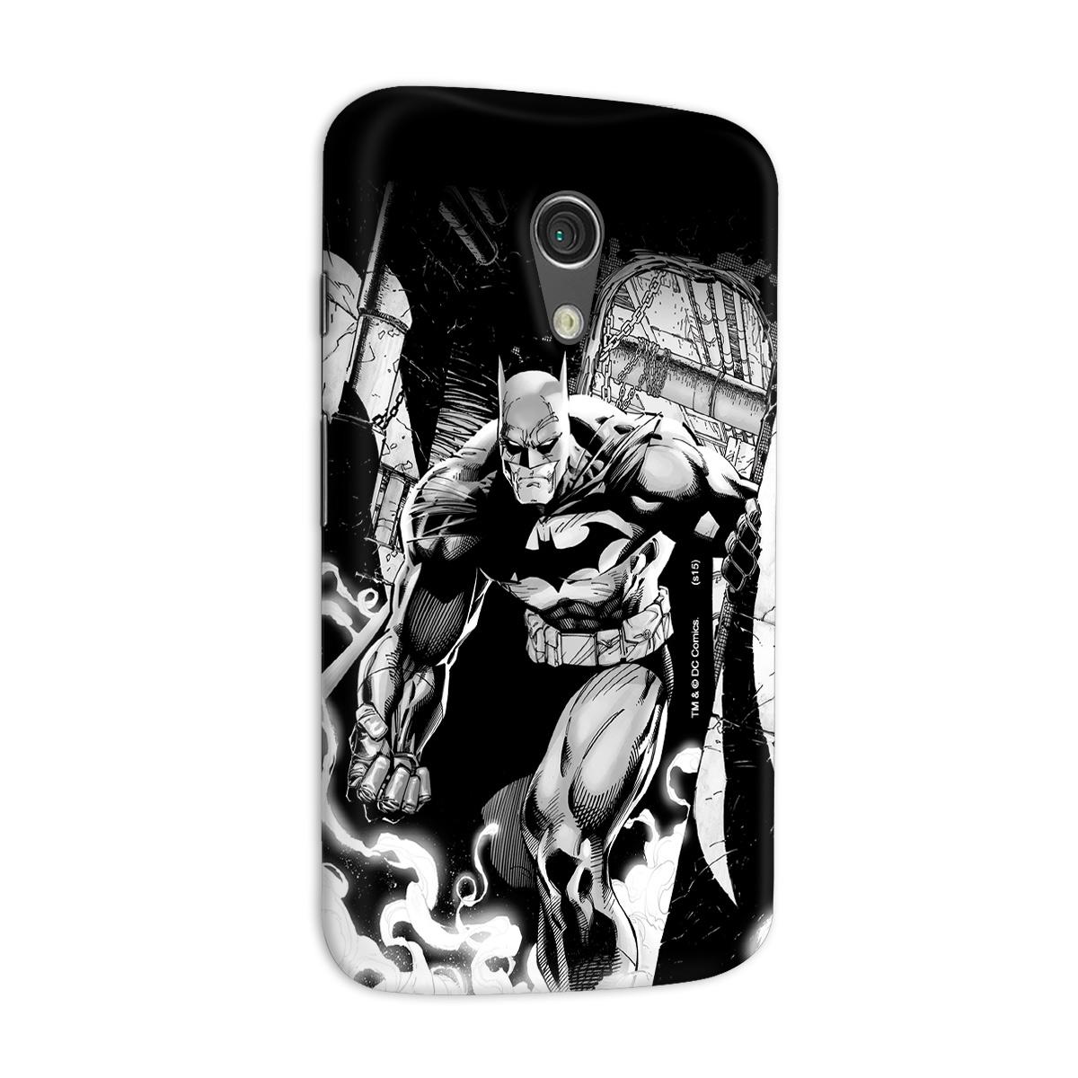 Capa para Motorola Moto G 2 Tracing Batman
