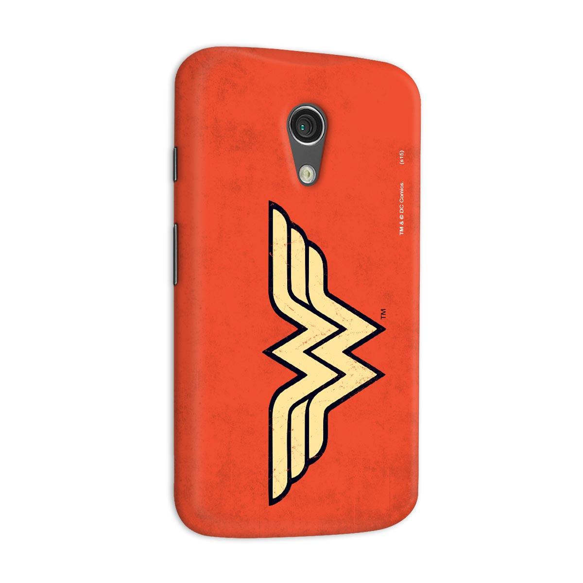 Capa para Motorola Moto G 2 Wonder Woman