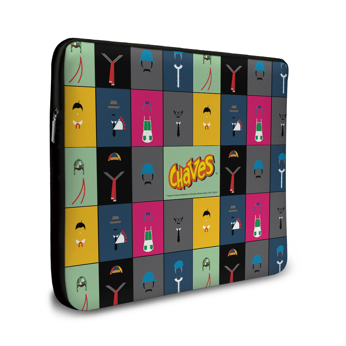 Capa para Notebook Chaves �cones Turma do Chaves Vintage