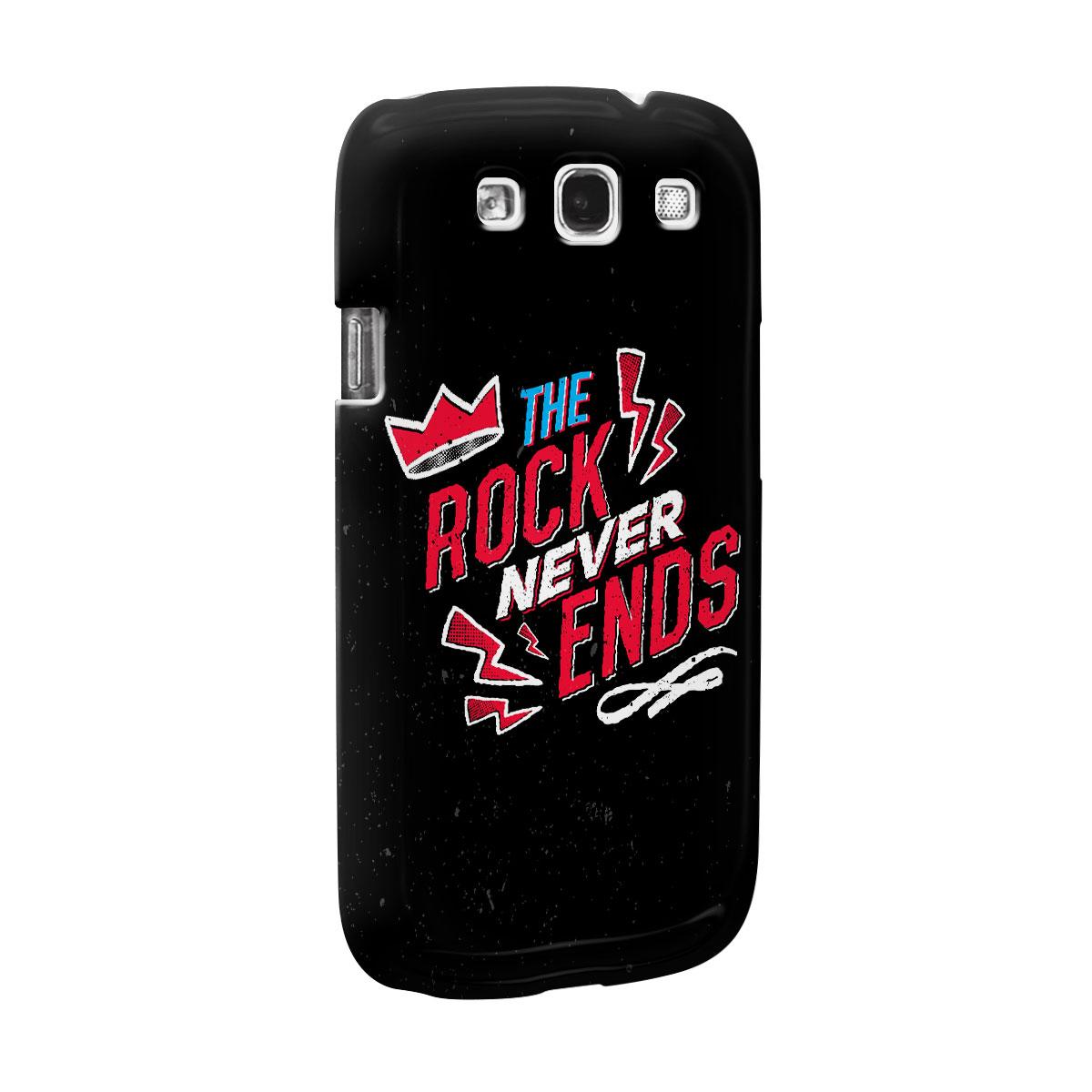 Capa para Samsung Galaxy S3 89FM A R�dio Rock 30 Anos The Rock Never Ends