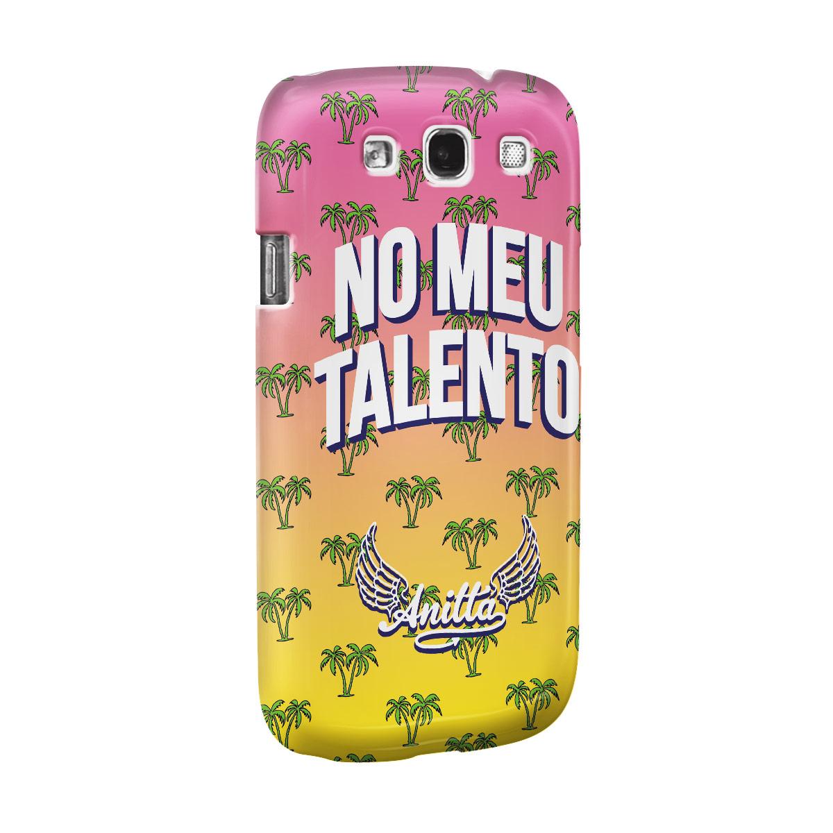 Capa para Samsung Galaxy S3 Anitta No Meu Talento