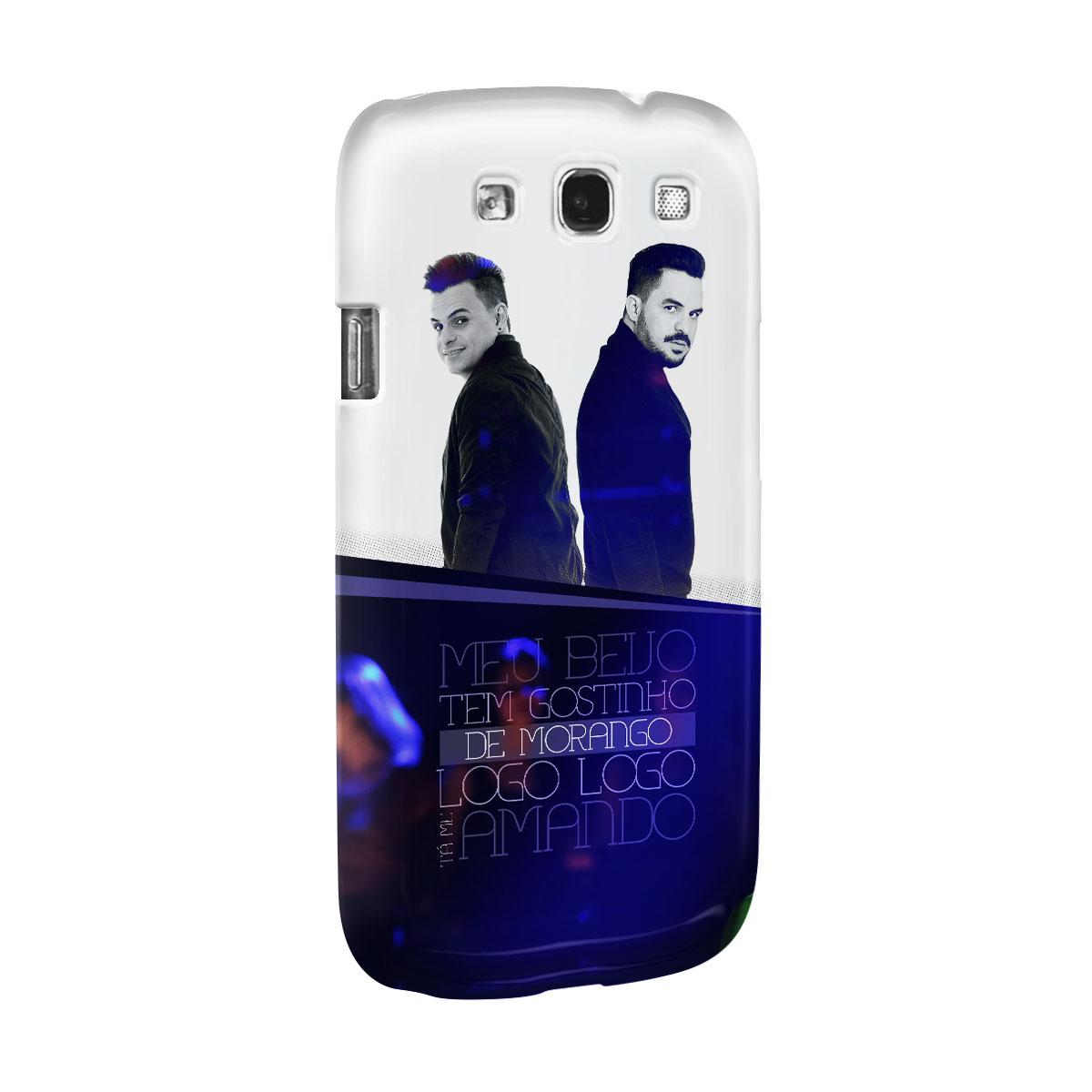 Capa para Samsung Galaxy S3 Carlos & Jader Meu Beijo