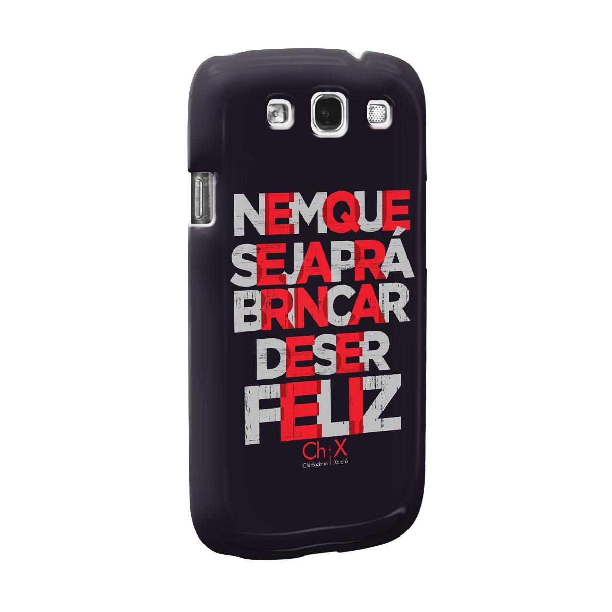 Capa para Samsung Galaxy S3 Chitãozinho & Xororó Brincar de Ser Feliz