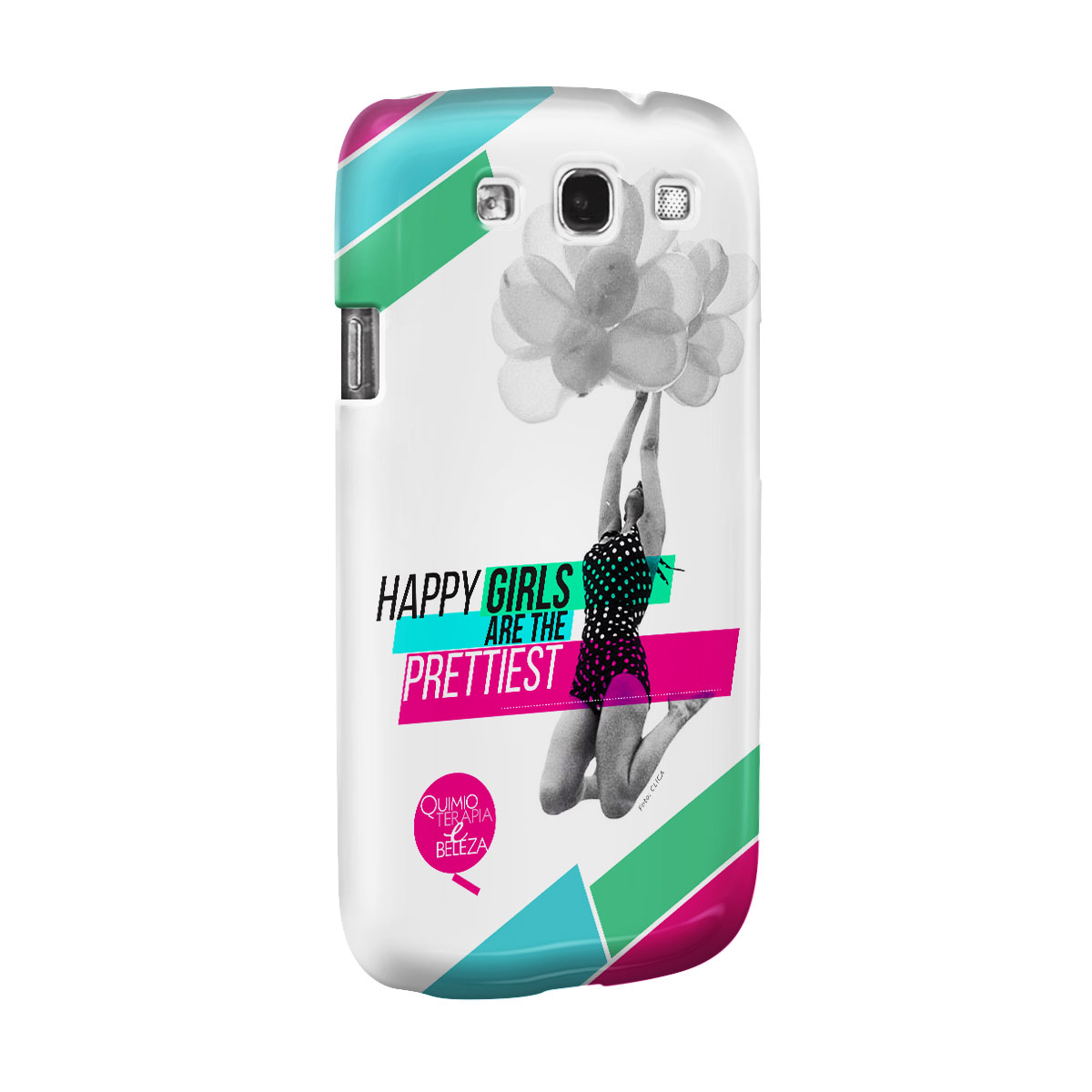 Capa para Samsung Galaxy S3 QeB Happy Girls
