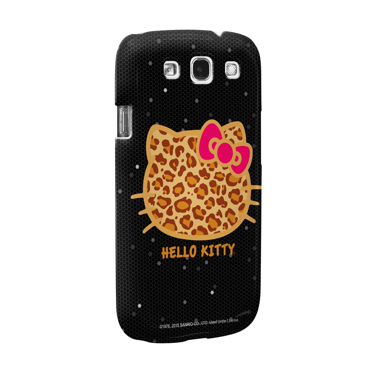 Capa para Samsung Galaxy S3 Hello Kitty Print Fuzzy