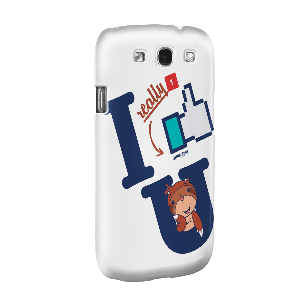 Capa para Samsung Galaxy S3 Jaime I Like You