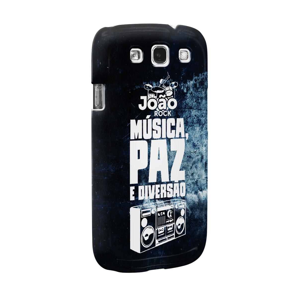Capa para Samsung Galaxy S3 João Rock Música