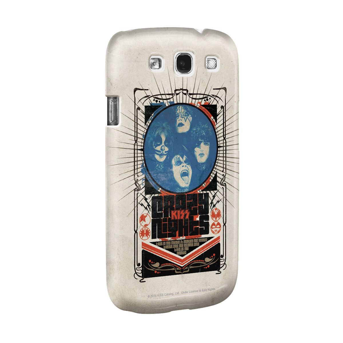 Capa para Samsung Galaxy S3 Kiss Crazy Nights