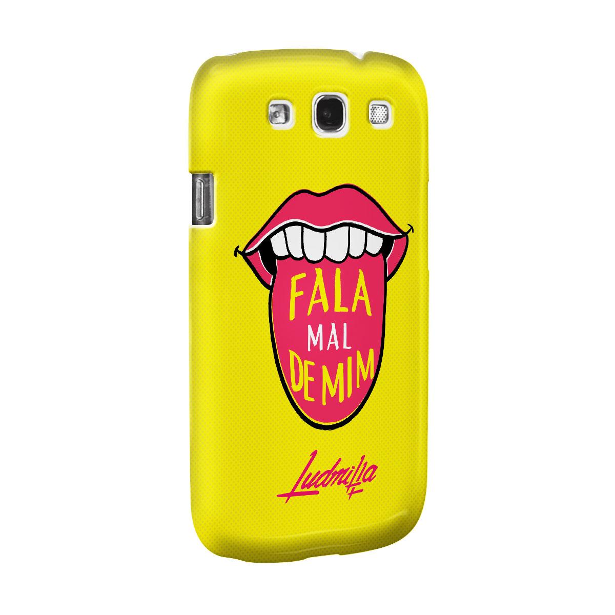 Capa para Samsung Galaxy S3 Ludmilla Fala Mal de Mim