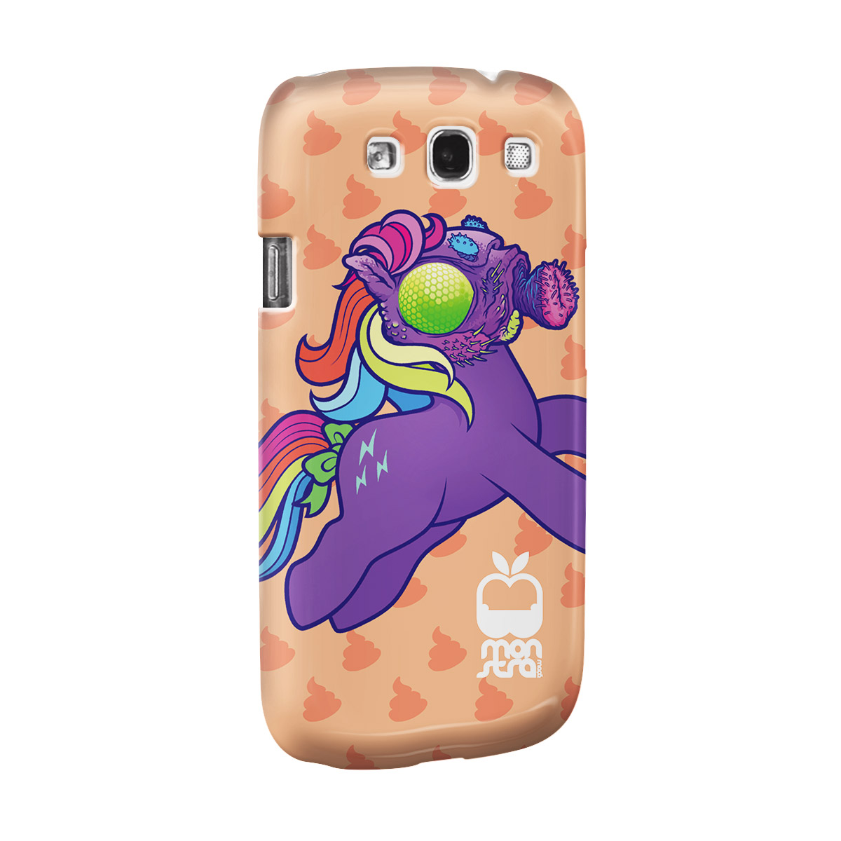 Capa para Samsung Galaxy S3 Monstra Ma�� My Little Monster