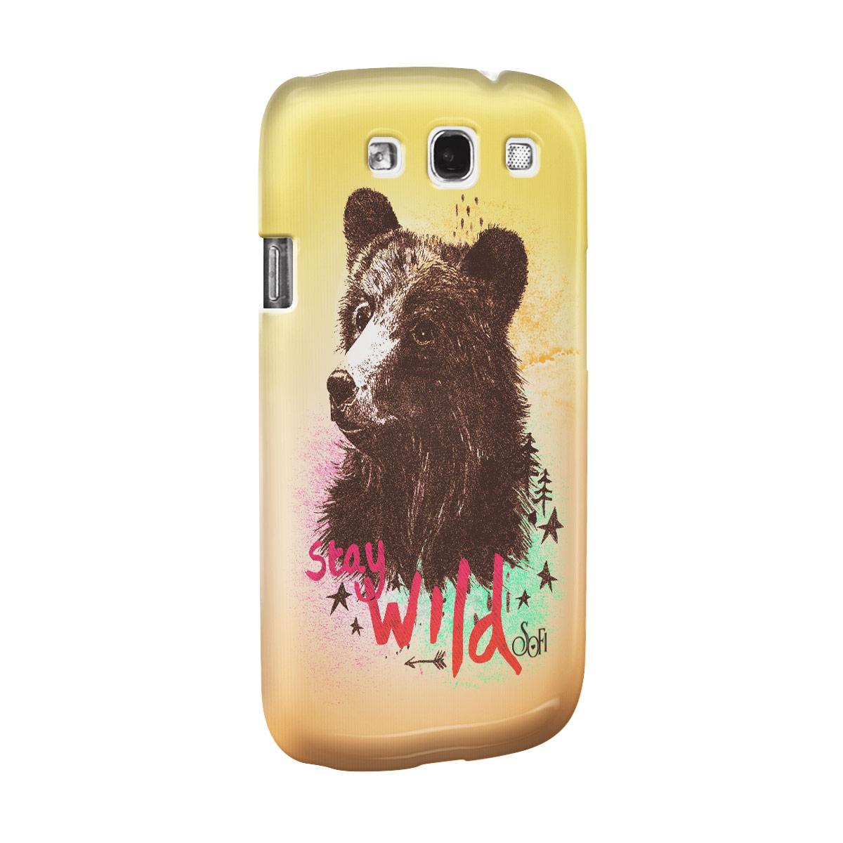 Capa para Samsung Galaxy S3 Sofia Oliveira Stay Wild