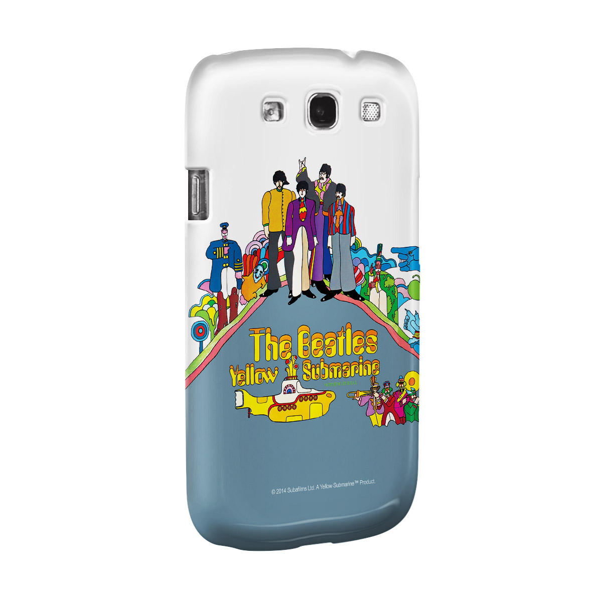Capa para Samsung Galaxy S3 The Beatles Yellow Submarine Nothing Is Real