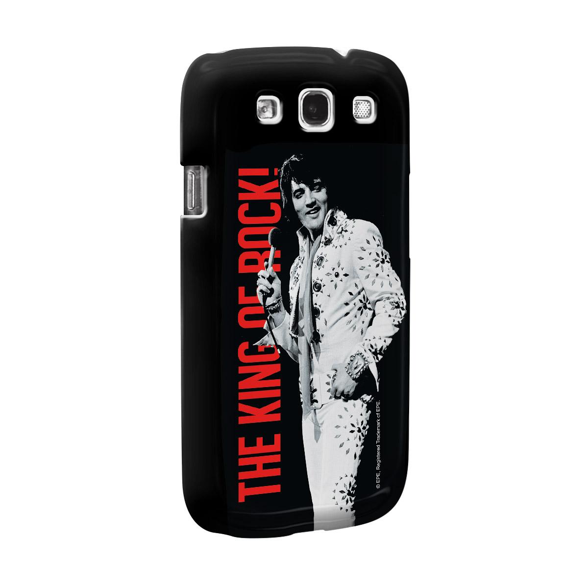 Capa para Samsung Galaxy S3 Elvis Presley The King Of Rock!