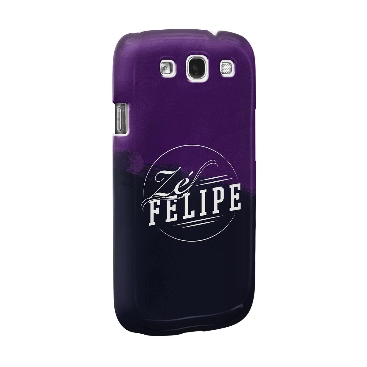 Capa para Samsung Galaxy S3 Zé Felipe Logo