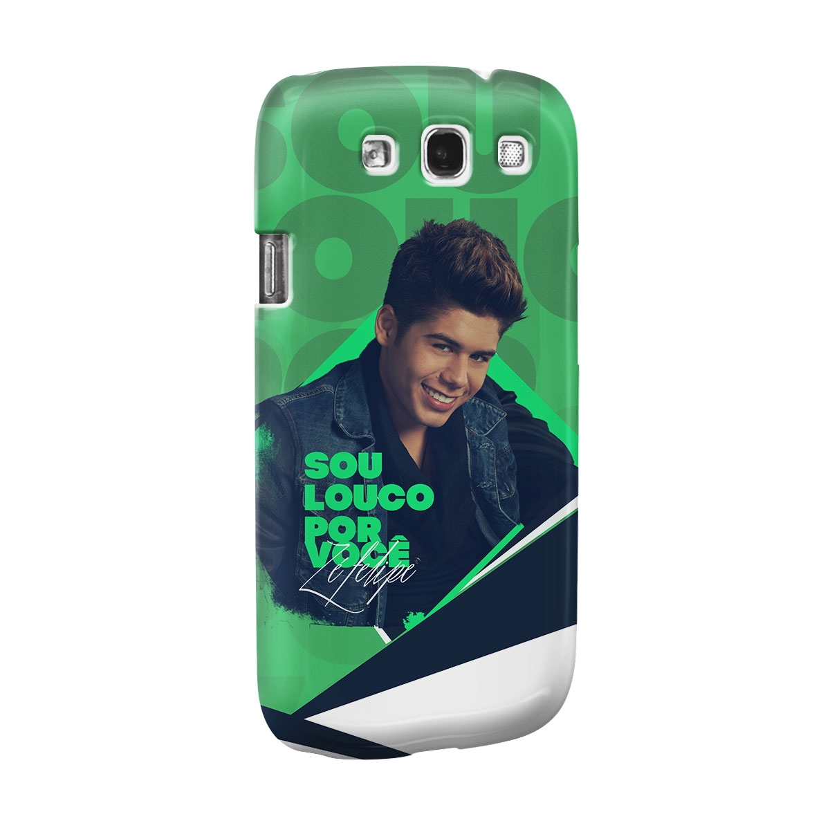 Capa para Samsung Galaxy S3 Z� Felipe Louco Por Voc� Foto
