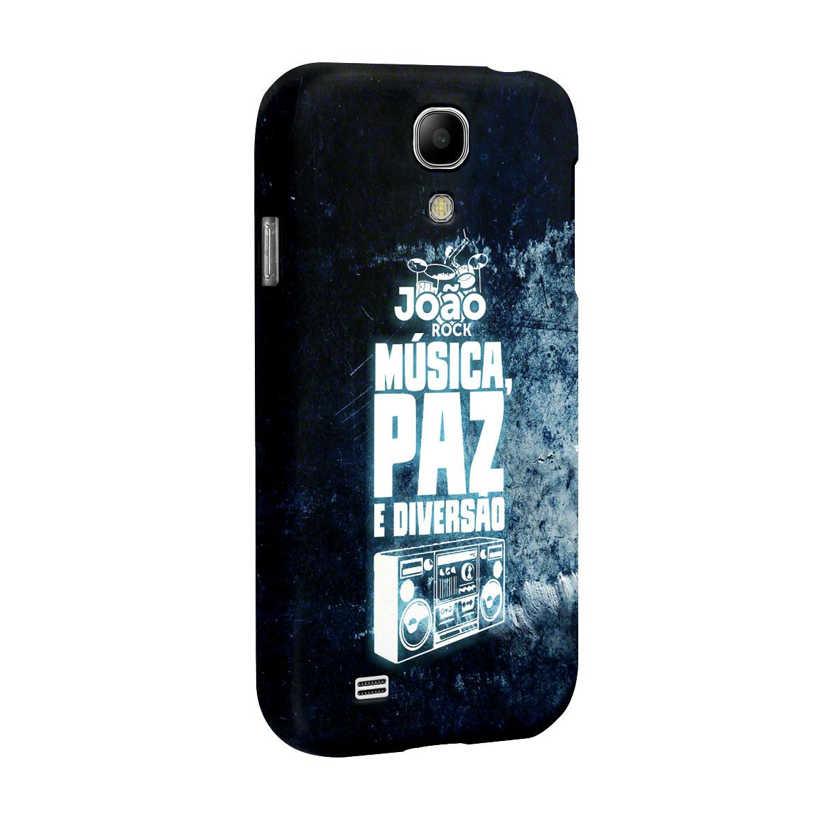 Capa para Samsung Galaxy S4 Jo�o Rock M�sica