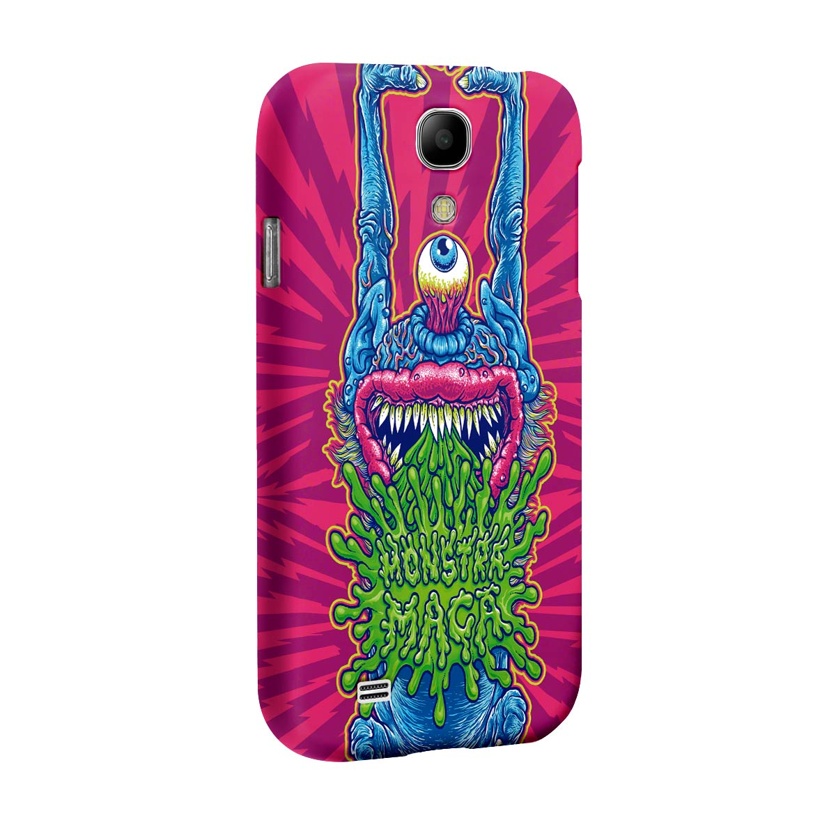 Capa para Samsung Galaxy S4 Monstra Maçã Puke