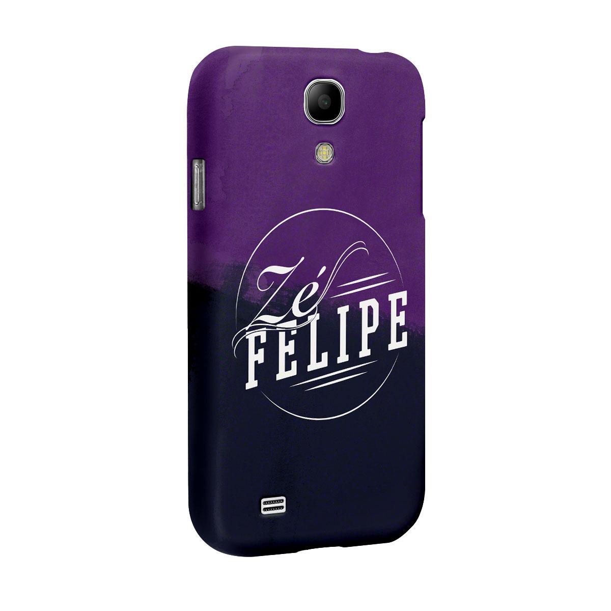 Capa para Samsung Galaxy S4 Zé Felipe Logo