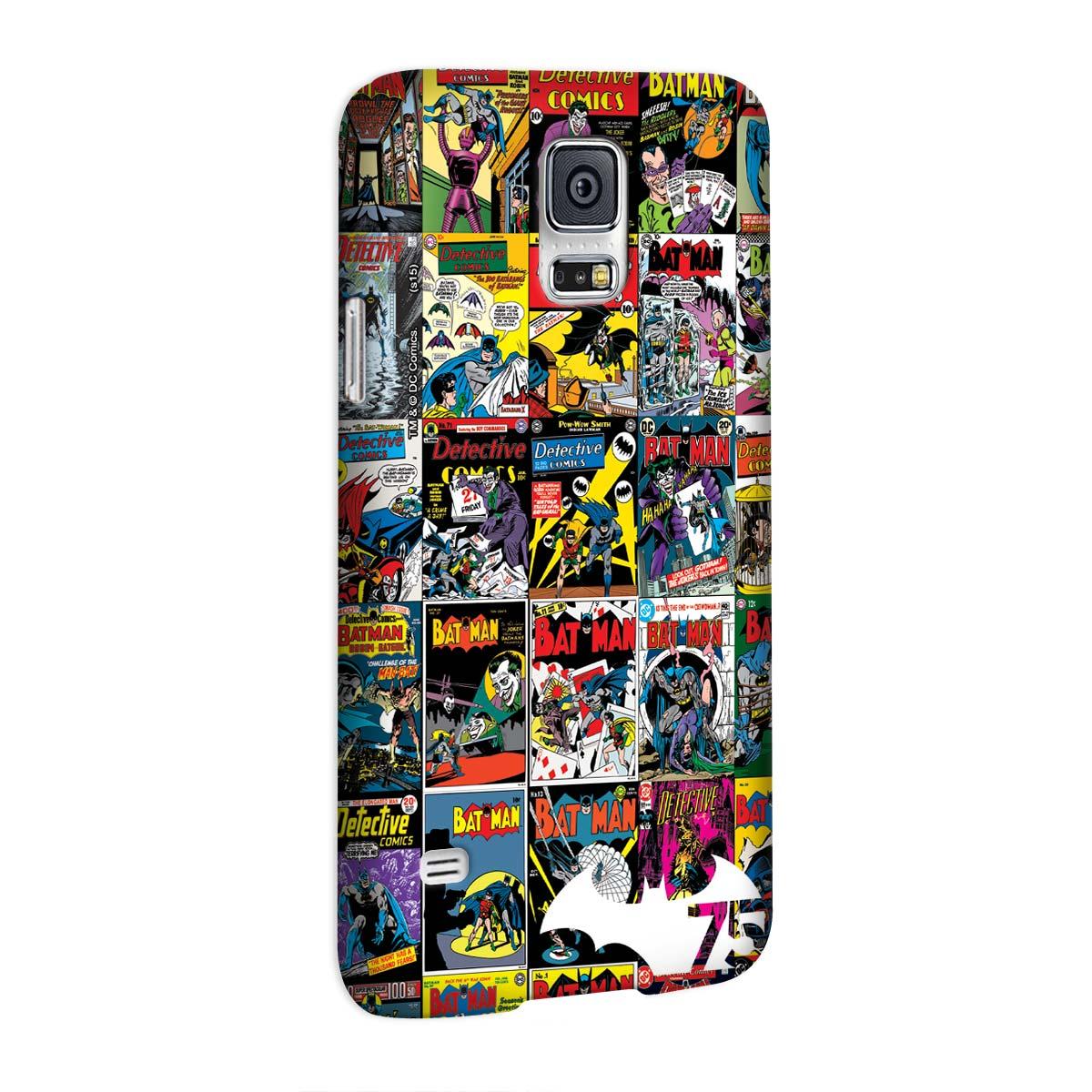 Capa para Samsung Galaxy S5 Batman 75 Anos HQ