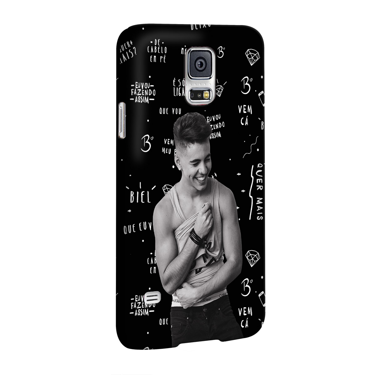 Capa para Samsung Galaxy S5 Biel Demorô