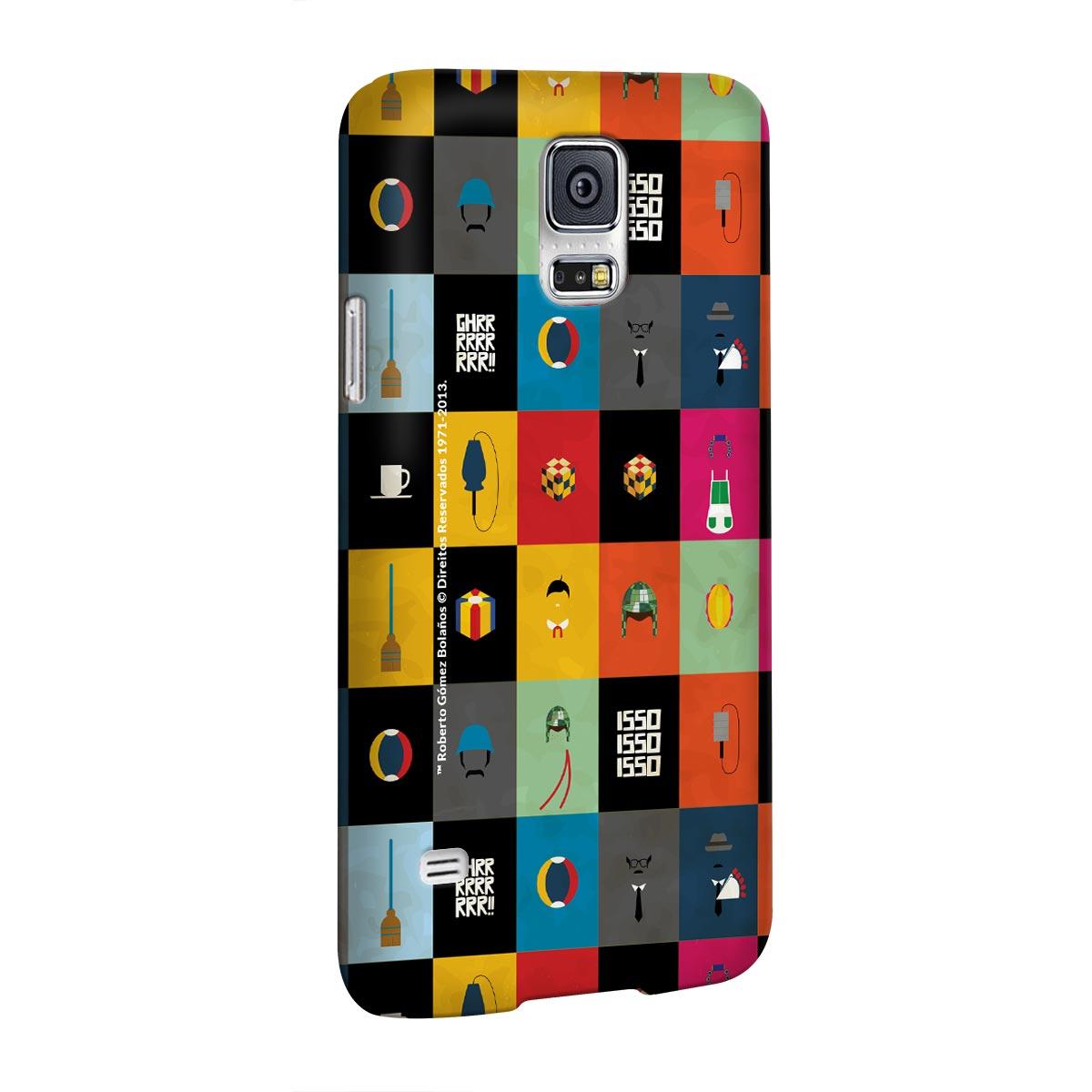 Capa para Samsung Galaxy S5 Chaves Ícones Vintage