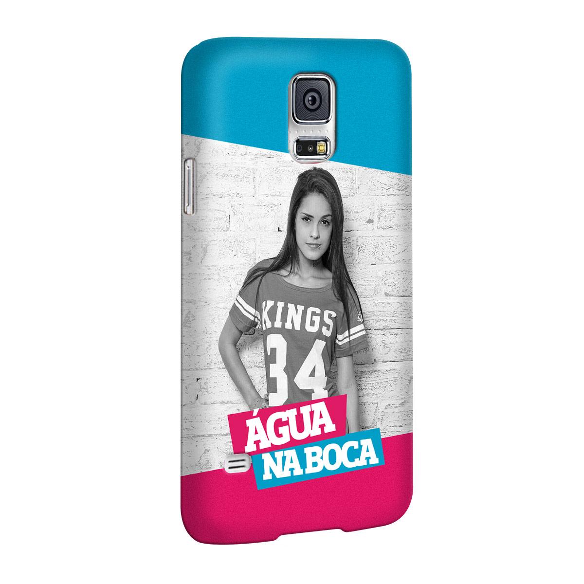 Capa para Samsung Galaxy S5 MC Tati Zaqui �gua na Boca