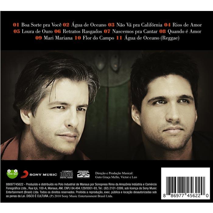 CD Victor  & Leo Boa Sorte Pra Você