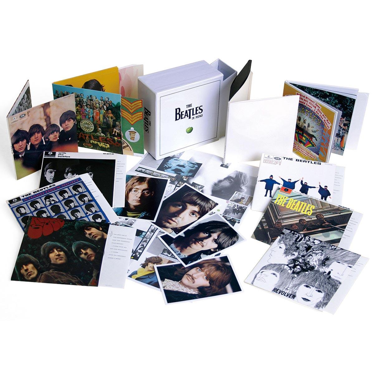 CD Box The Beatles - Mono Box Set