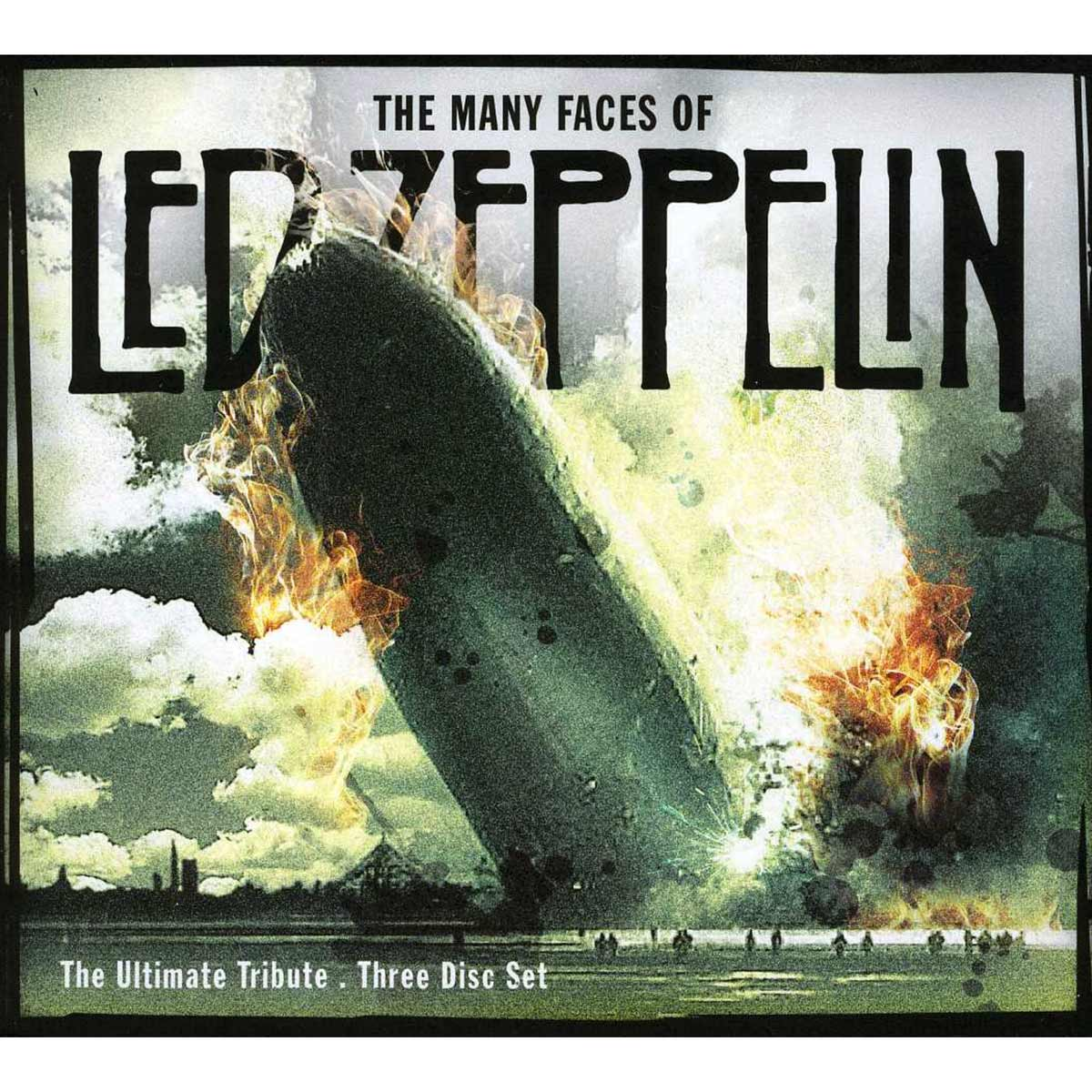 CD Box The Many Faces Of Led Zeppelin