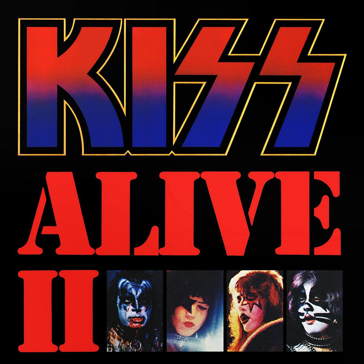CD Duplo Kiss Alive II