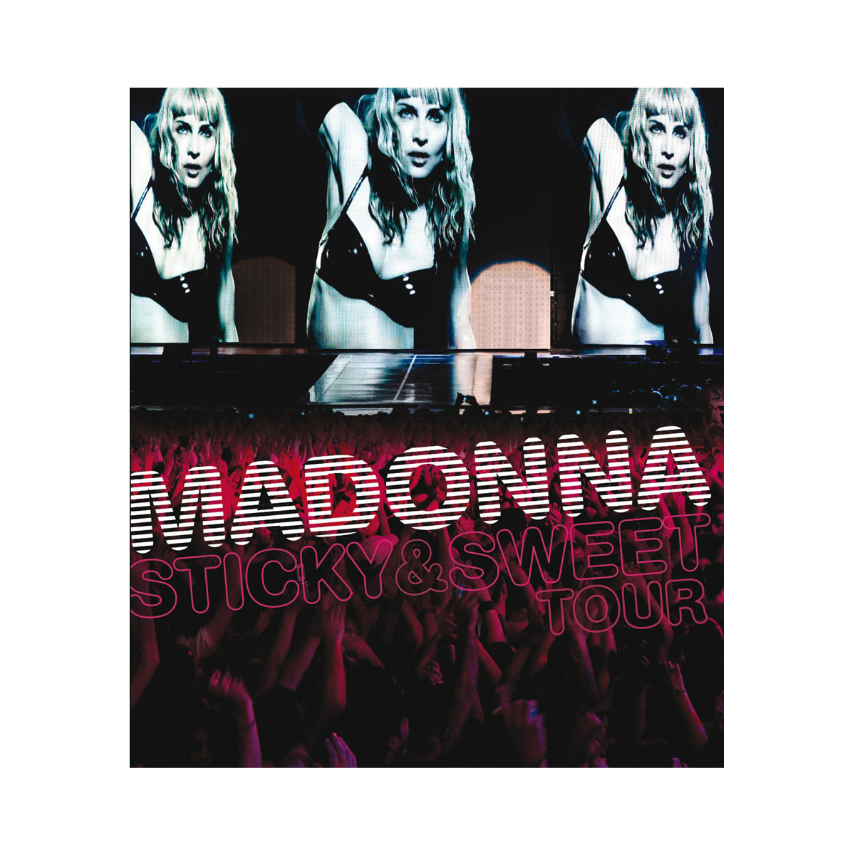 CD + DVD Madonna Sticky  Sweet Tour