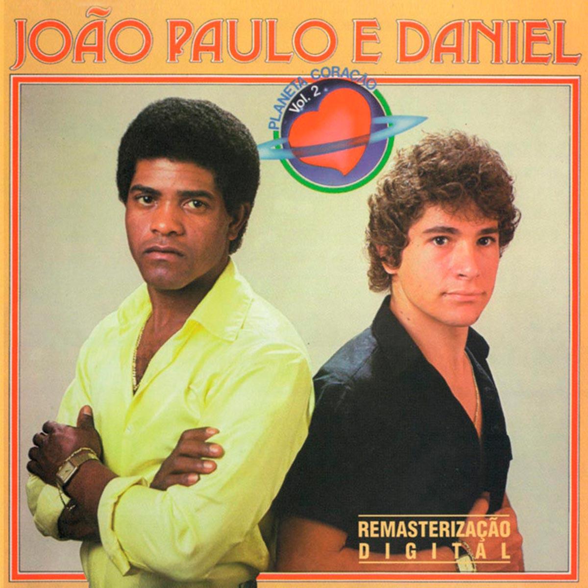 CD João Paulo & Daniel Planeta Coração Volume 2