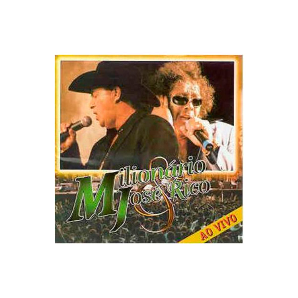 CD Milionário & José Rico Ao Vivo 1999 Volume 24