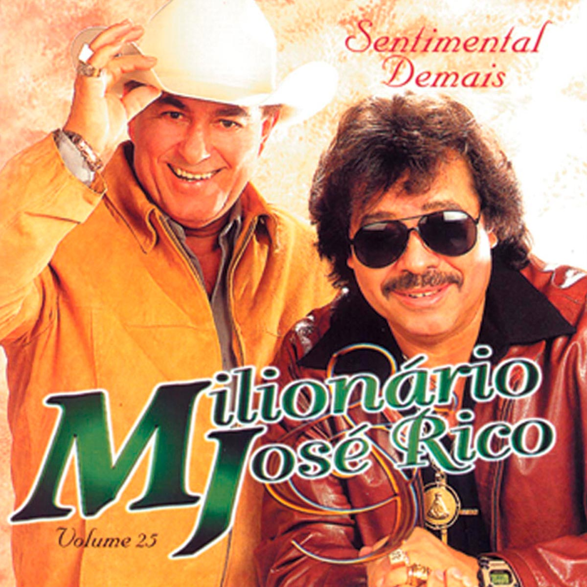 CD Milionário & José Rico Sentimental Demais Volume 25