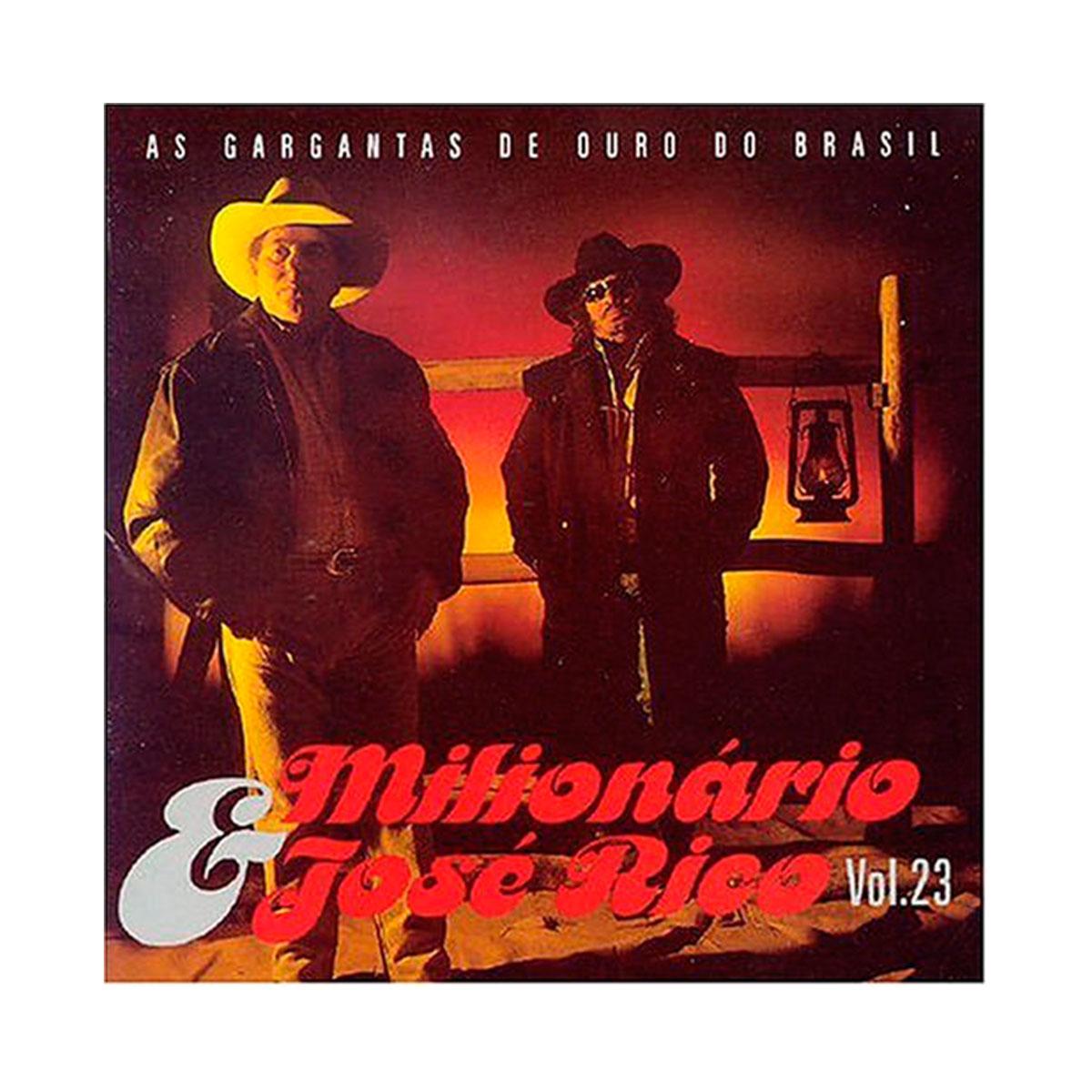 CD Milionário & José Rico Volume 23