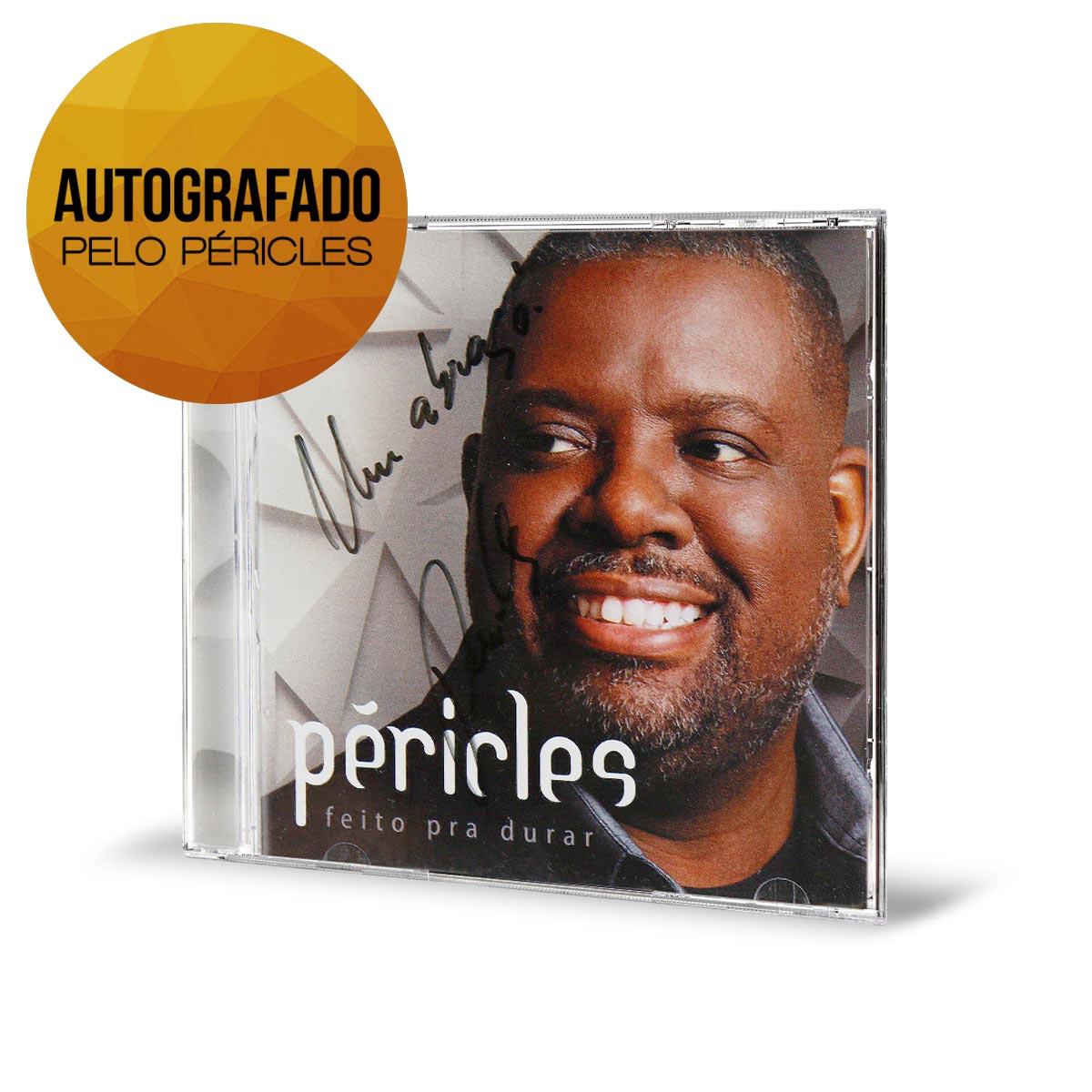 CD AUTOGRAFADO Péricles Feito Pra Durar