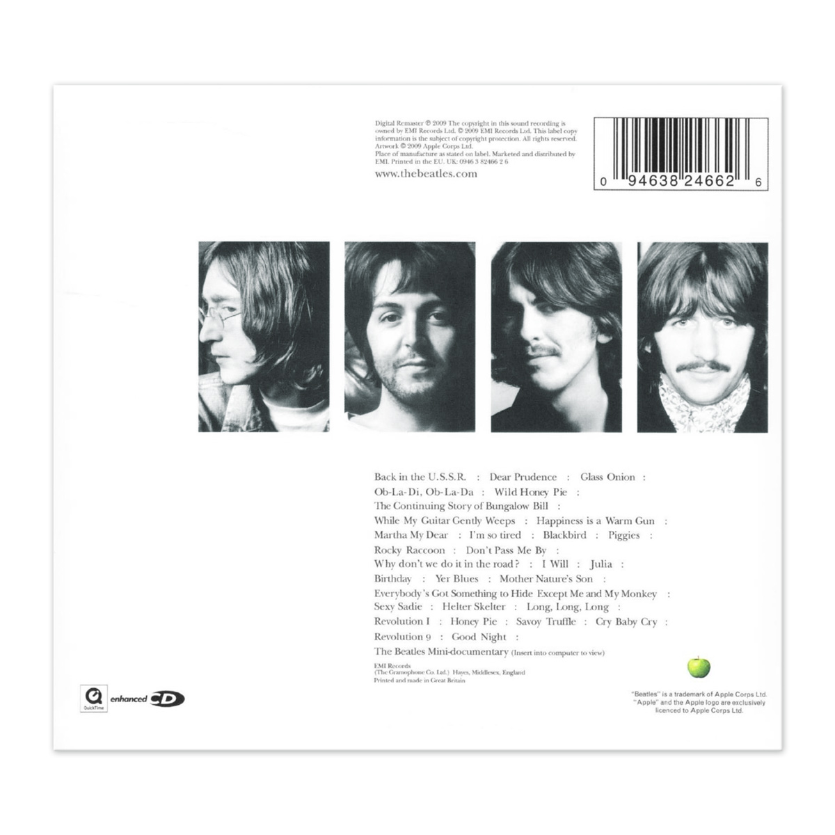 CD The Beatles White Album