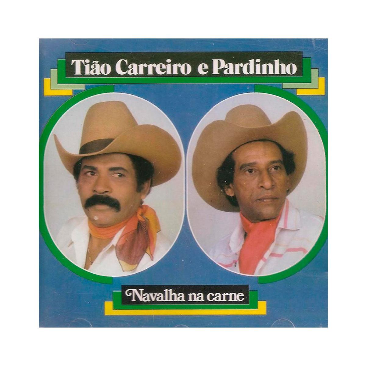 CD Ti�o Carreiro & Pardinho Navalha Na Carne